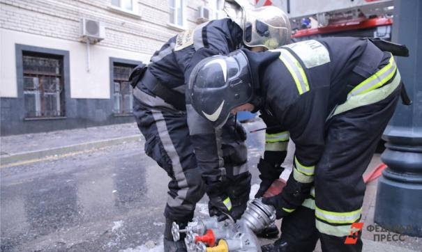 Инцидент произошел сегодня утром на улице Златоустовской