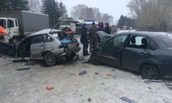 Смертельная авария произошла на трассе Екатеринбург – Курган