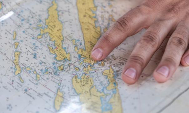 В украинском учебнике географии нашли карту из Skyrim