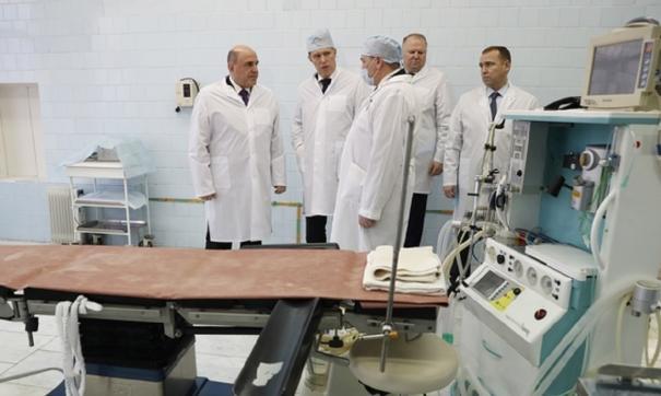 После визита Мишустина Курганской больнице скорой помощи выделят 200 млн на ремонт