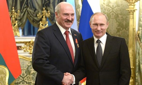 Путин предложил Лукашенко отведать «кашку» на воде