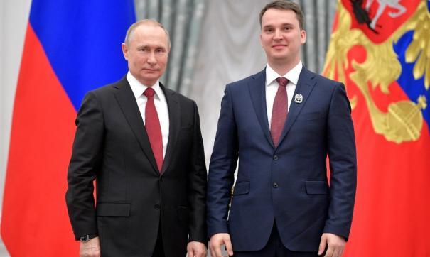 Ученый из Владивостока получил награду от президента
