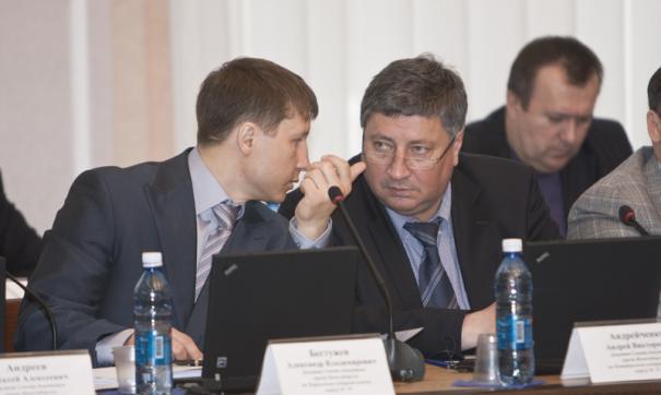 Экс-депутат новосибирского горсовета Андрей Андрейченко (справа) возглавил реготделение «Партии дела»