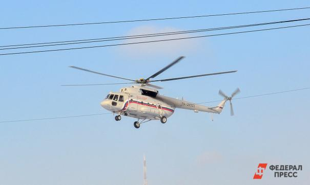 В Верхнекетском районе Томской области оборудуют новую вертолетную площадку