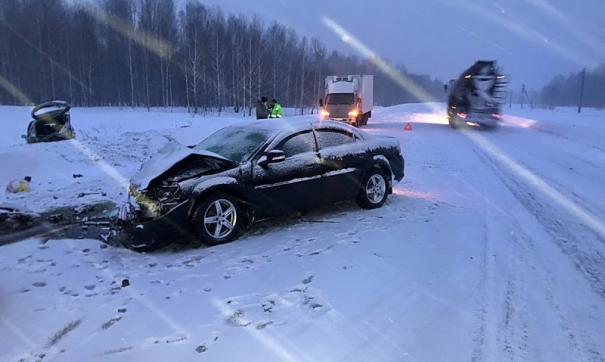 В аварии под Томском погибла десятилетняя девочка