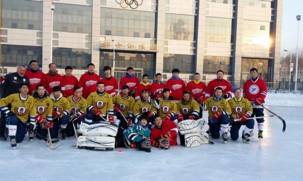 Китайские хоккеисты должны были играть с 1 по 5 марта в составе группы Б