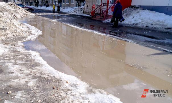 Затопленные улицы становятся проблемой самарцев