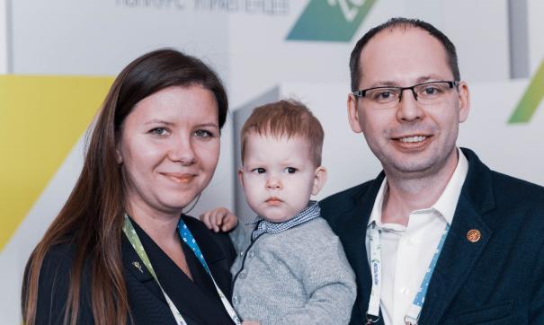 Семья калининградцев участвовала в полуфинале «Лидеров России» с малышом