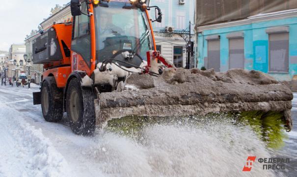 Администрация Екатеринбурга потребовала от коммунальщиков более чистых дорог