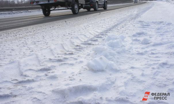 Водителей предупредили о гололеде на свердловских трассах