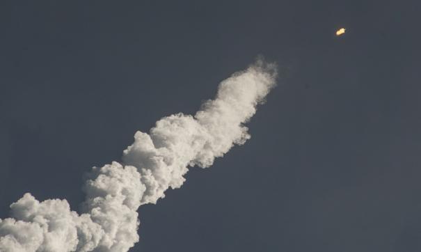 ВВС США доложили о разрушении ступени советской ракеты-носителя