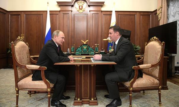 Дмитрий Патрушев проинформировал президента о ситуации в сельскохозяйственной отрасли