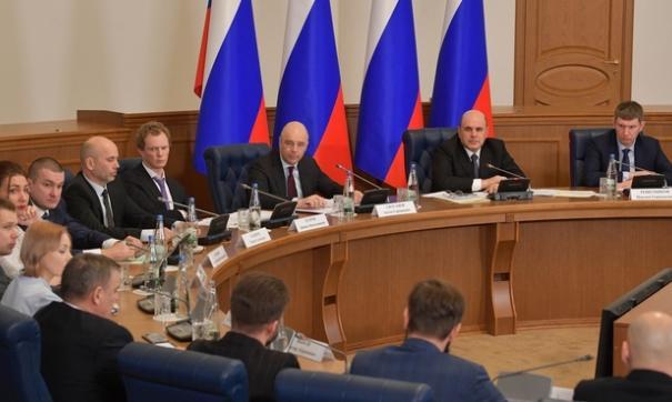 Мишустин в Новгороде встретился с предпринимателями