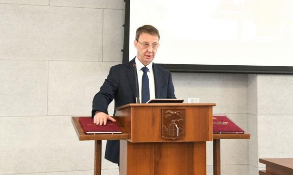 Большинством голосов на пост главы Барнаула был избран Вячеслав Франк