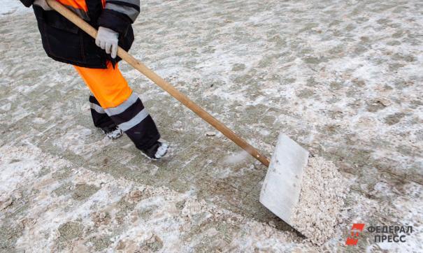 Из Омска вывезли рекордный объем снега