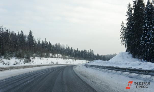 Ограничения введены из-за метелей и плохой видимости на дорогах