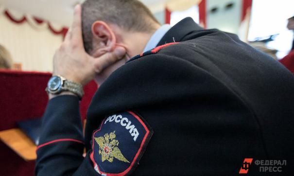 Полицейский задержан