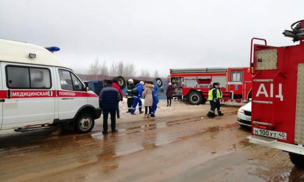 В ДТП с двумя автобусами в Калмыкии никто не погиб