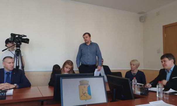 По словам Токарева, предприятие возглавляет глава УК Ленинского района Павел Саранчин