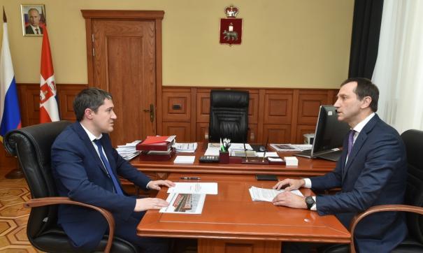 Регион заинтересован в долгосрочном сотрудничестве с «Уралкалием»
