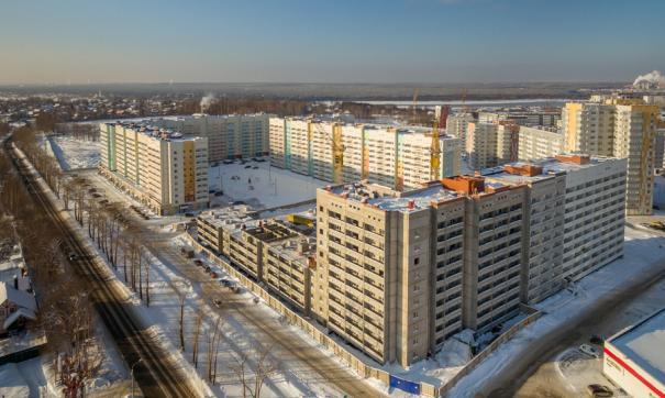 Дом на улице Целинной, 53 – 10-этажный на 445 квартир