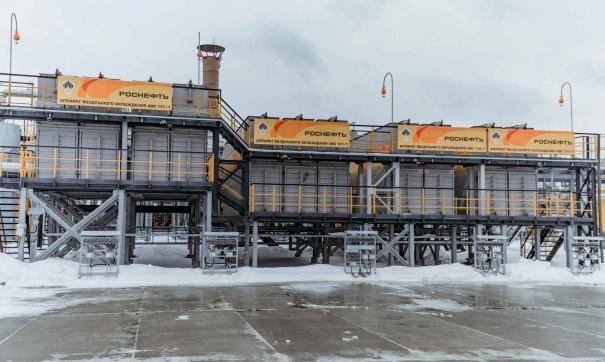 На Правдинском месторождении построен первый пусковой комплекс компрессорной станции