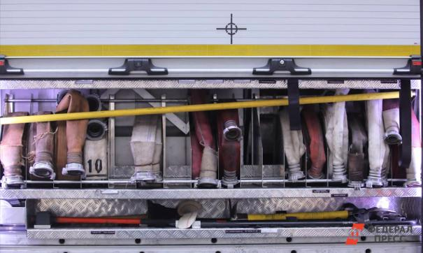 В Новой Москве произошел пожар на складе с радиоэлектроникой