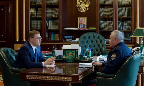 Текслер провел встречу со Степаном Шульгой