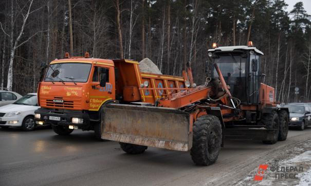 Челябинские дороги будет чистить курганская техника