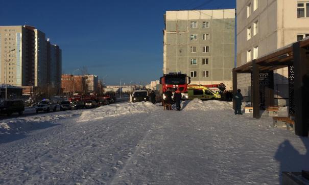 В Якутске в жилом доме взорвался газ