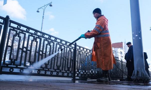 С 23 марта по 30 апреля в городе проходит месячник чистоты.