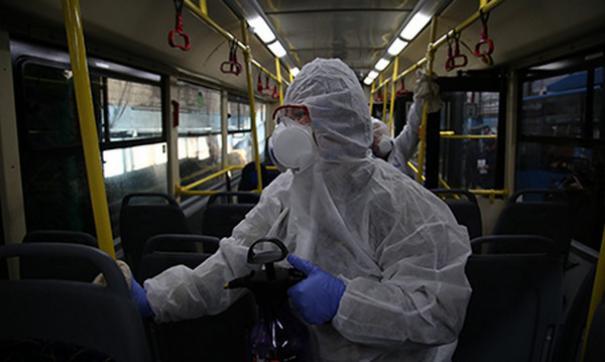 Ежедневно  дезинфицируются более 1200 автобусов