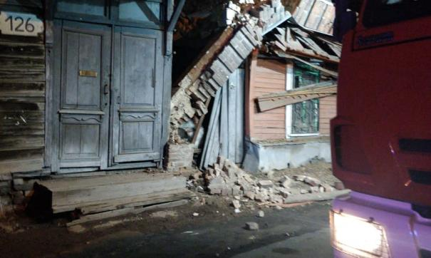 Чрезвычайное происшествие случилось вечером, когда жильцы были дома