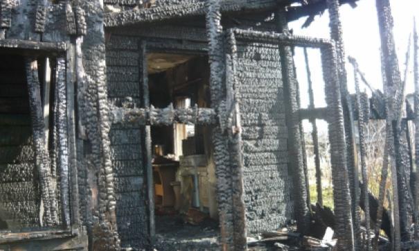 В Свердловской области при пожаре погиб маленький мальчик