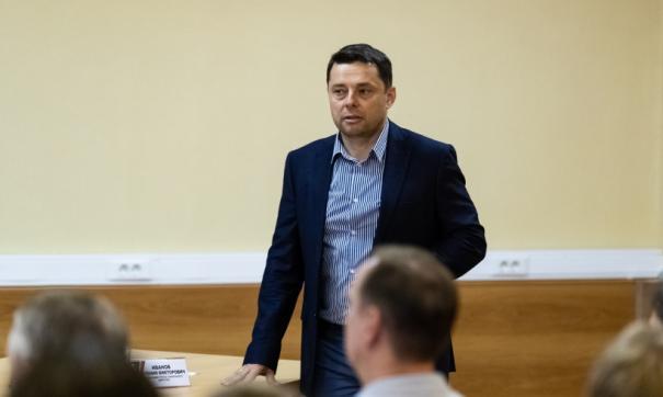 Евгений Иванов занимал пост первого заместителя гендиректора клуба