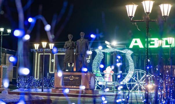 Ранее «Азот» был признан лучшим за новогоднее оформление территории промышленного предприятия