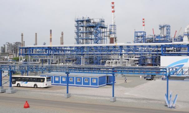 На Омском НПЗ завершен первый этап строительства очистных сооружений