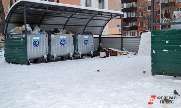 За вывоз мусора оператору не платят даже государственные учреждения