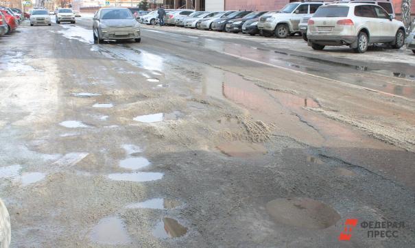 В Перми раньше обычного стартовал текущий ремонт дорог