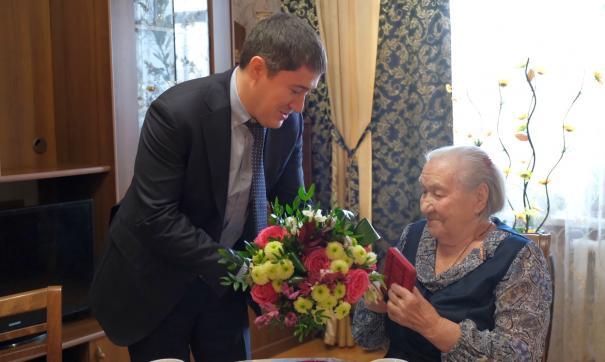 Глава Пермского края побывал в гостях у ветерана