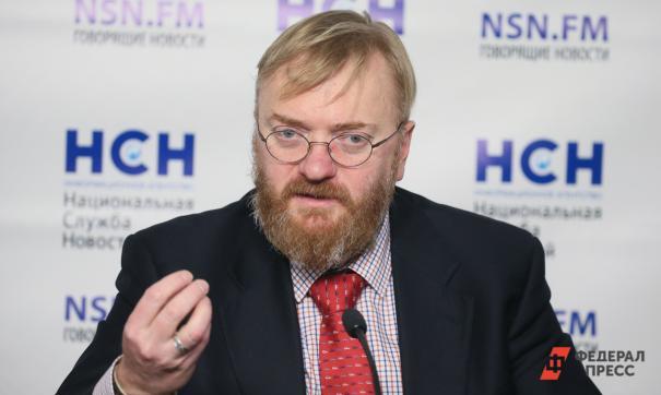 Милонов заявил о готовности посетить Ливию ради вызволения российских социологов