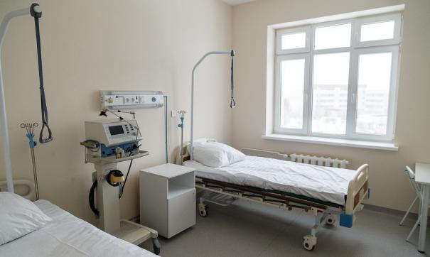 В екатеринбургской детской больнице №11 развернули «провизорной госпиталь»