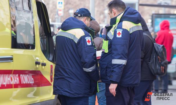 В Екатеринбурге СКР возбудил дело о нападении на скорую помощь
