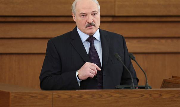 Белорусский лидер Александр Лукашенко