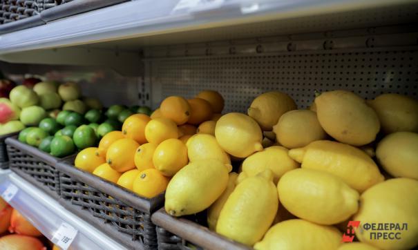 Лимоны на полке