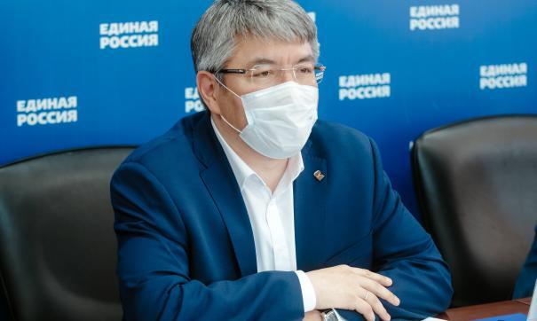 Алексей Цыденов: девять жителей Бурятии излечились от коронавируса