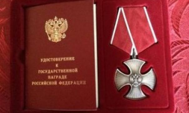 Путин наградил орденом Мужества кузбасских приставов