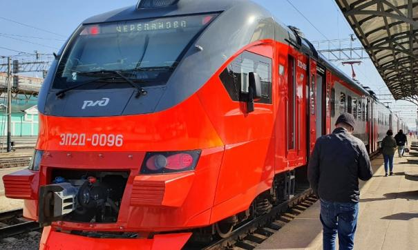 Электричка новой серии пополнила новосибирский парк поездов