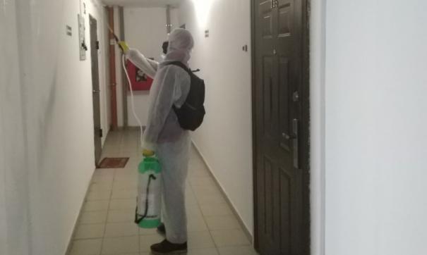 Тюменцы недовольны качеством дезинфекции в подъездах домов