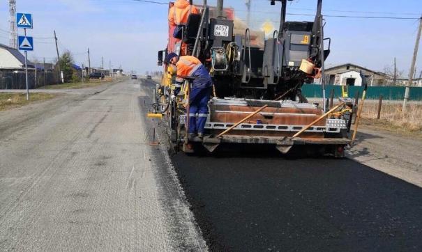 Уже начались дорожные работы в районе поселка Ембаево